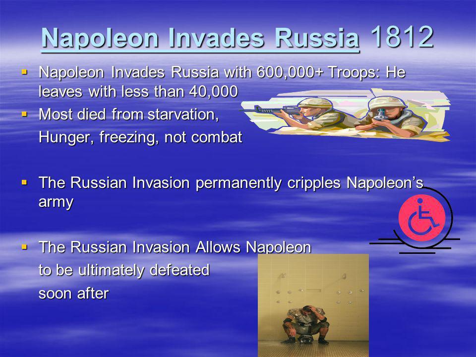 Napoleon Invades Russia 1812