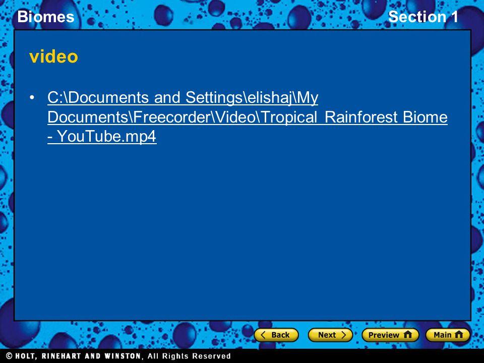video C:\Documents and Settings\elishaj\My Documents\Freecorder\Video\Tropical Rainforest Biome - YouTube.mp4.