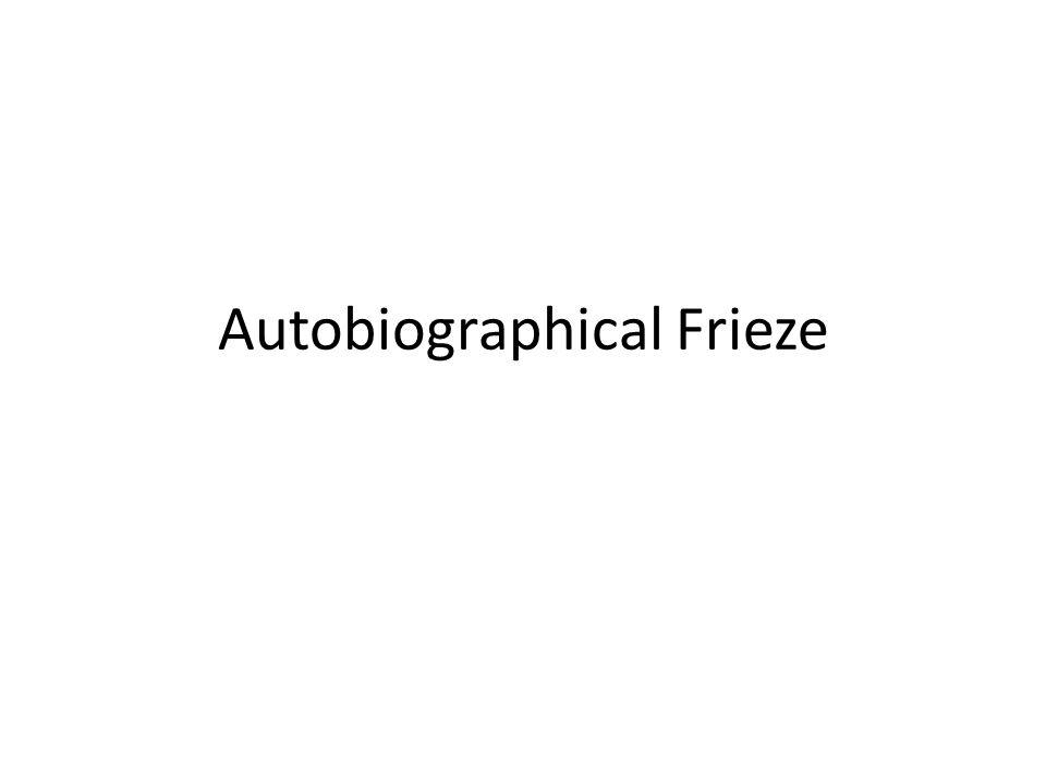 Autobiographical Frieze