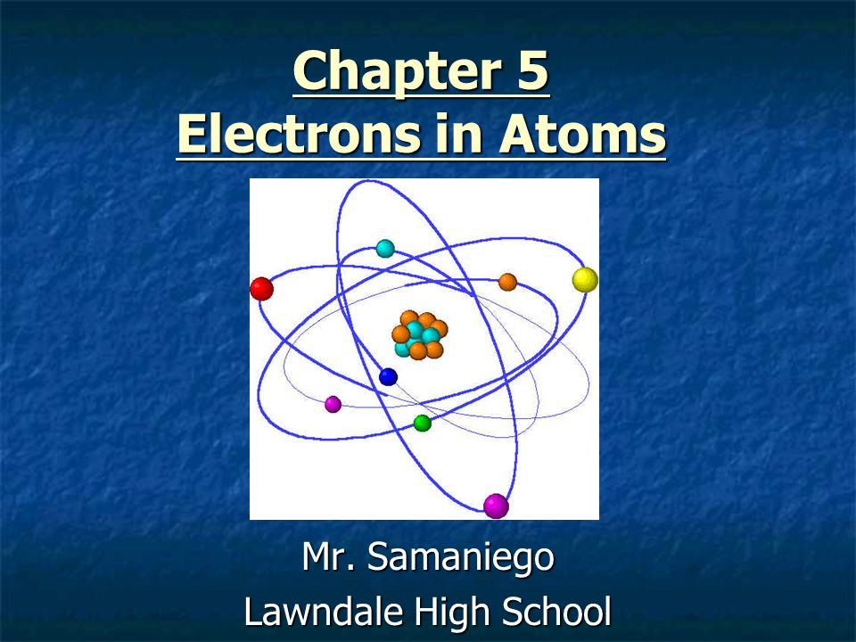 Electrons in atoms worksheet answers 5 1