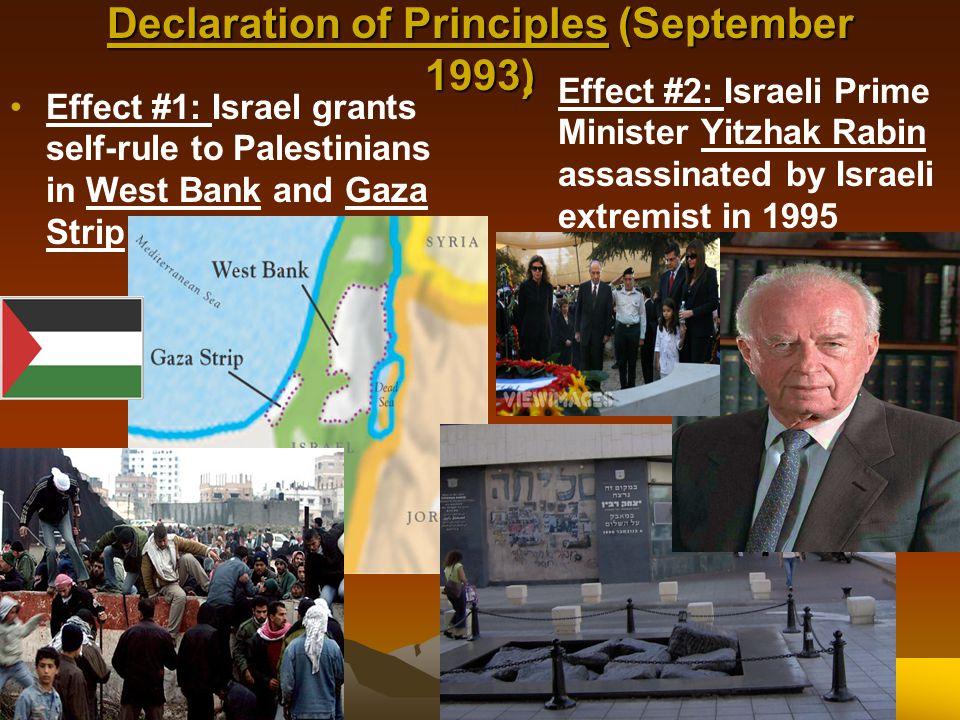 Declaration of Principles (September 1993)