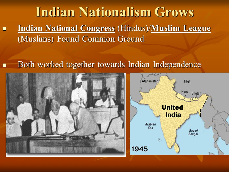 Indian Nationalism Grows