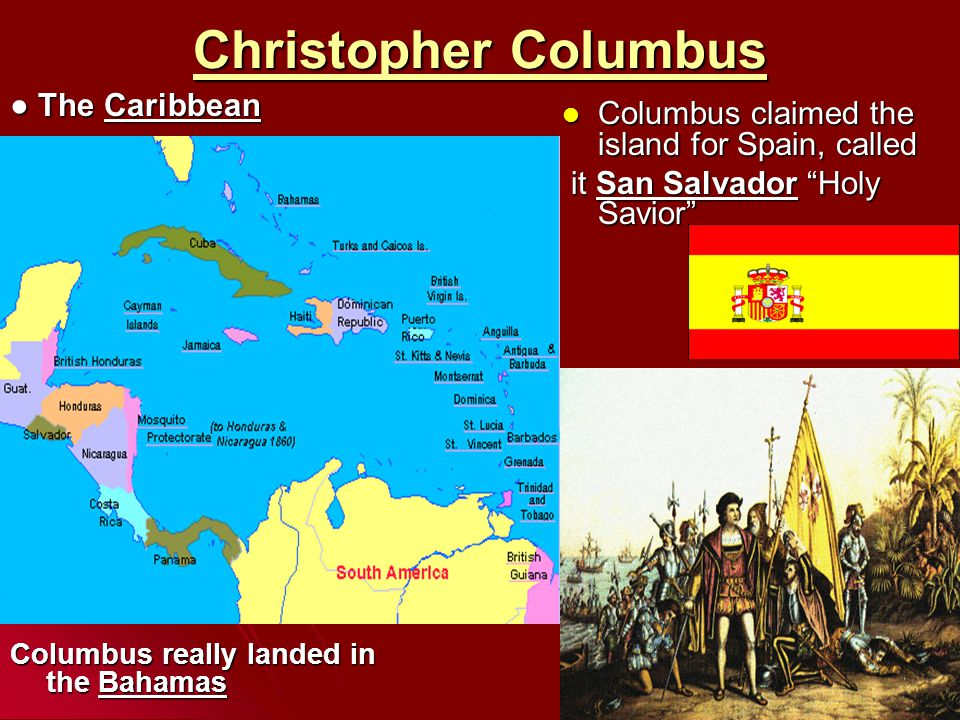 Christopher Columbus ● The Caribbean
