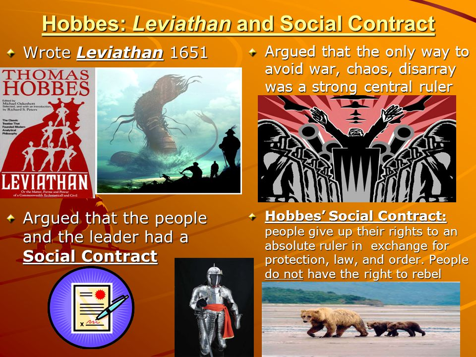 Hobbes: Leviathan and Social Contract