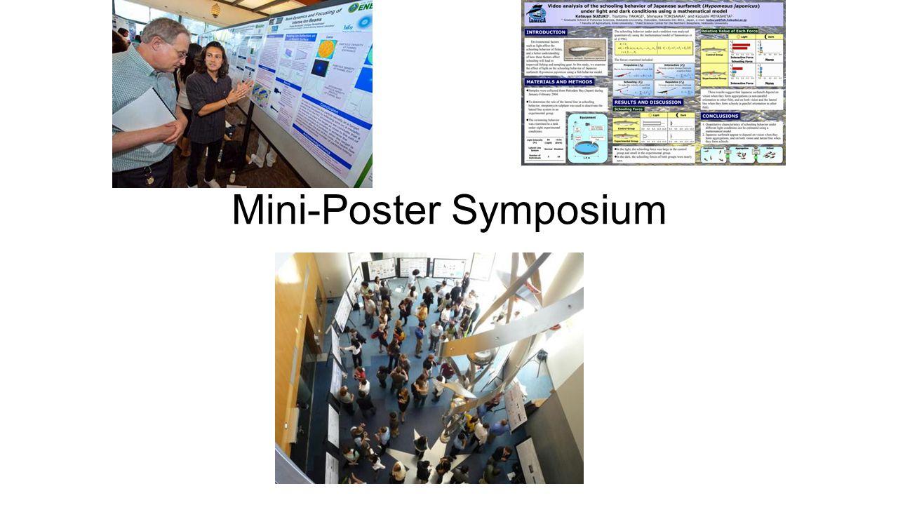 Mini-Poster Symposium