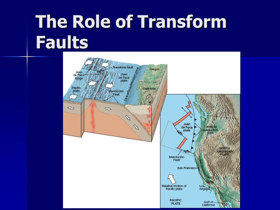 The Role of Transform Faults