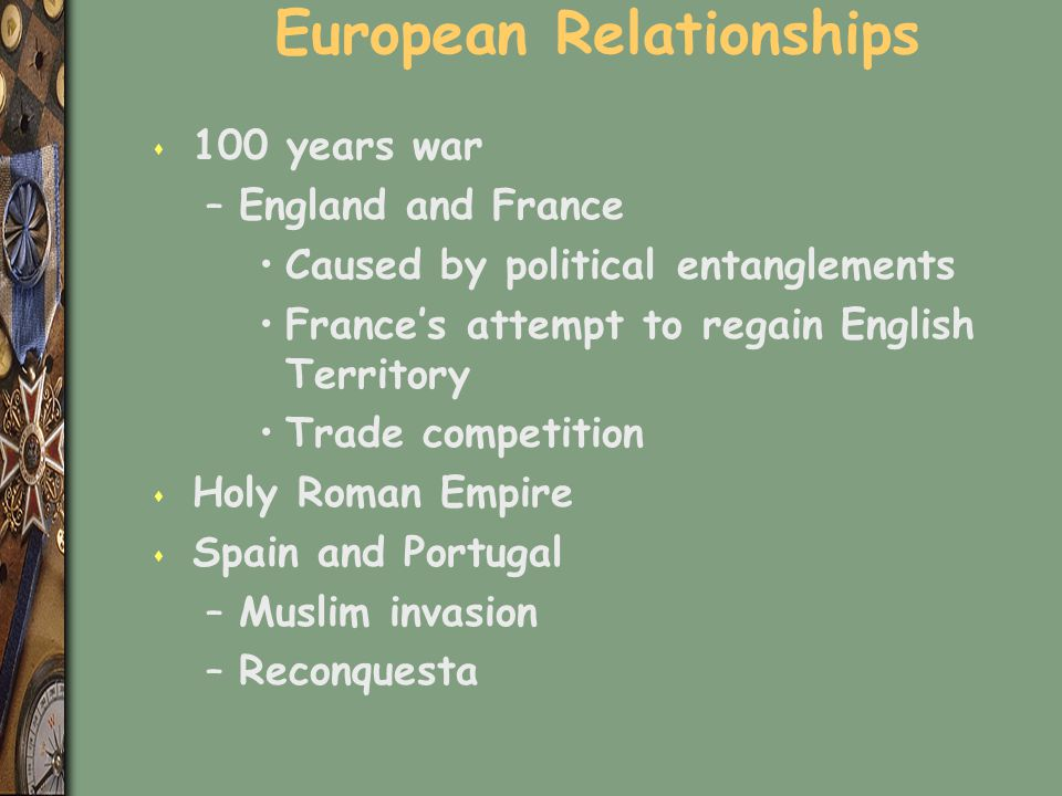 European Relationships