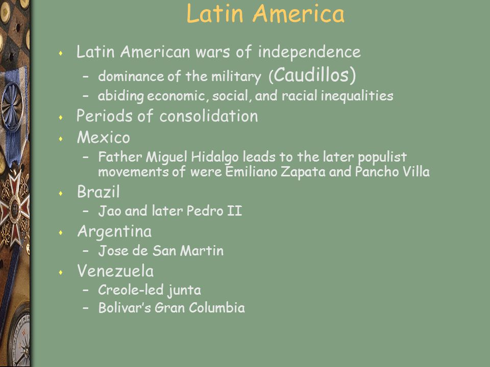 Latin America Latin American wars of independence