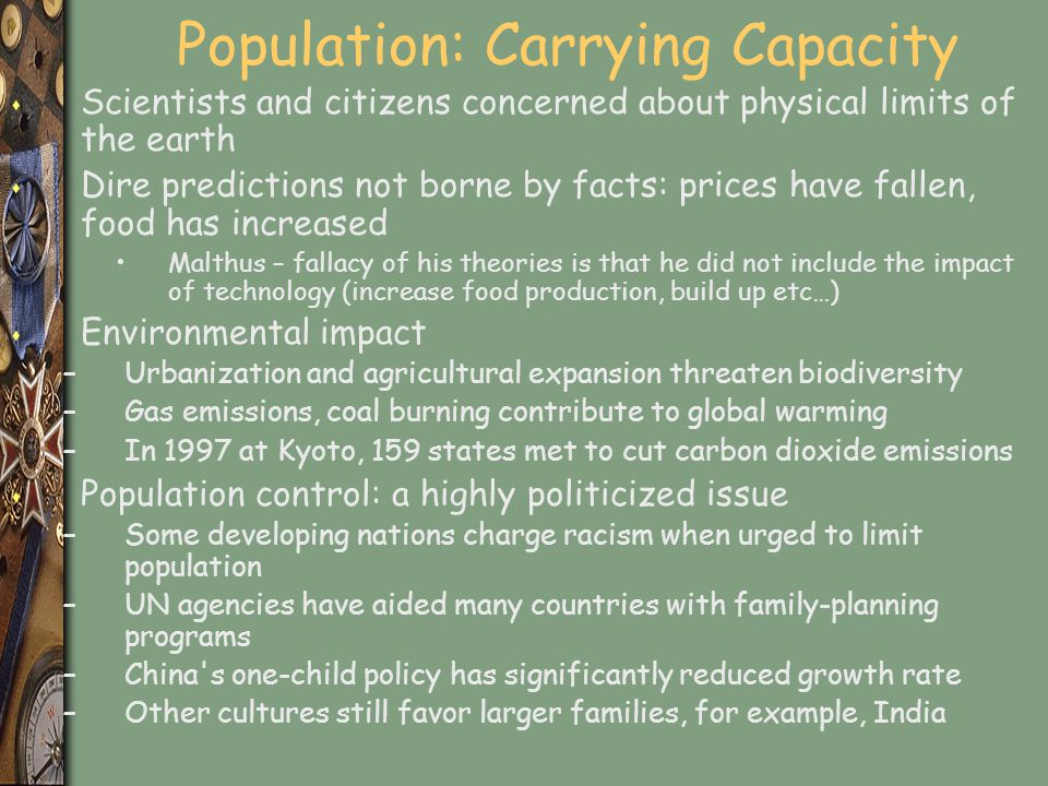 Population: Carrying Capacity