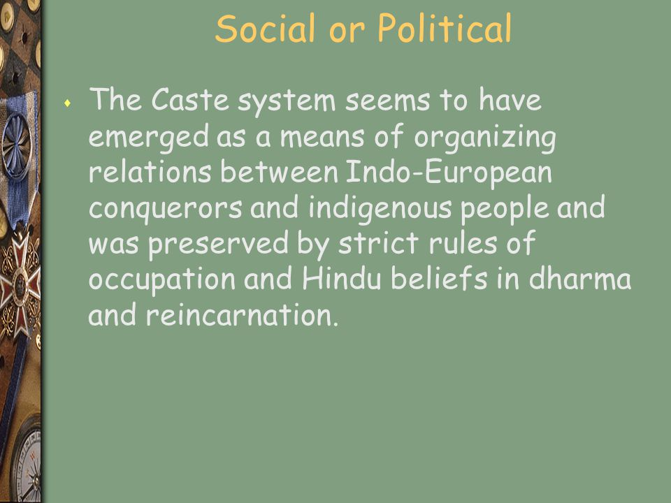 Social or Political