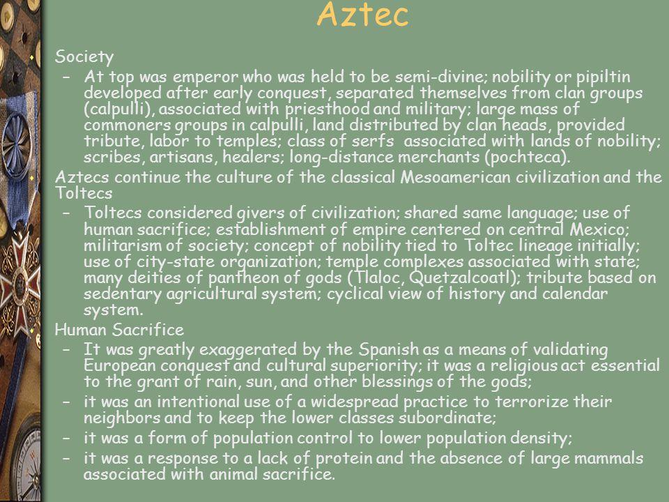 Aztec Society.