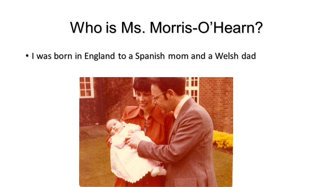 Who is Ms. Morris-O'Hearn