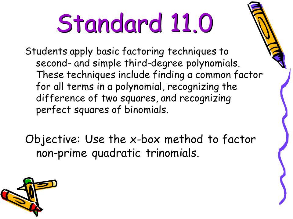 Standard 11.0