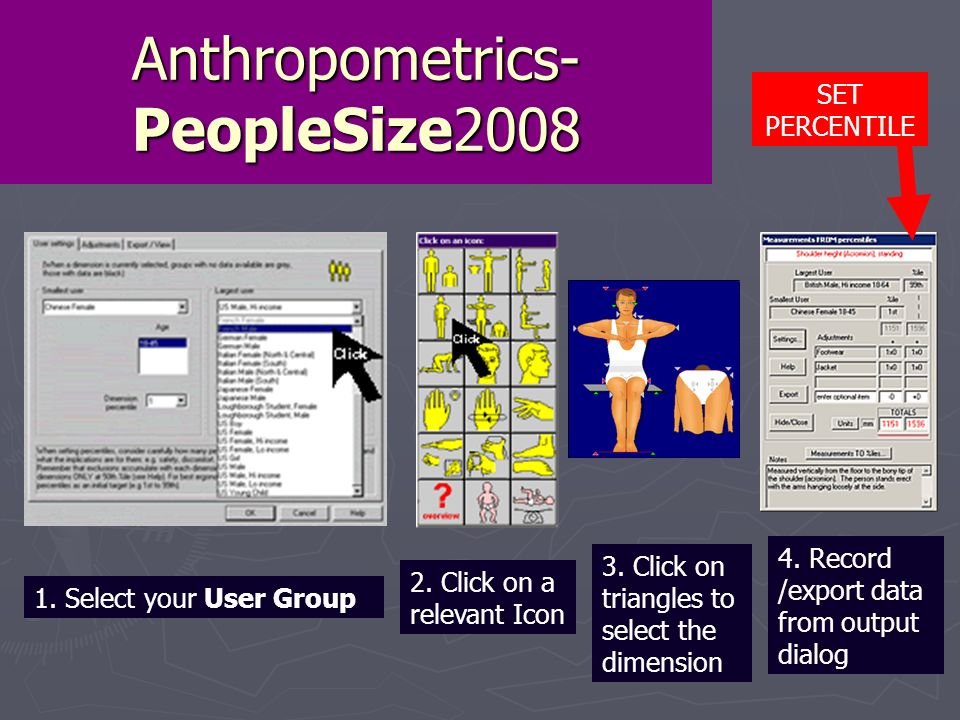 Anthropometrics- PeopleSize2008