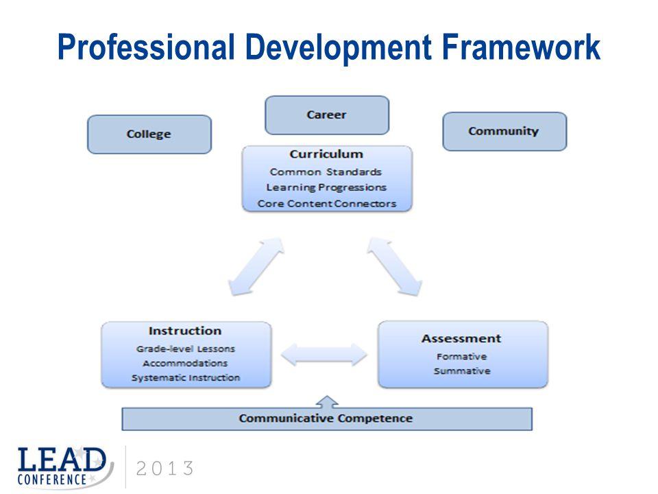 Professional Development Framework