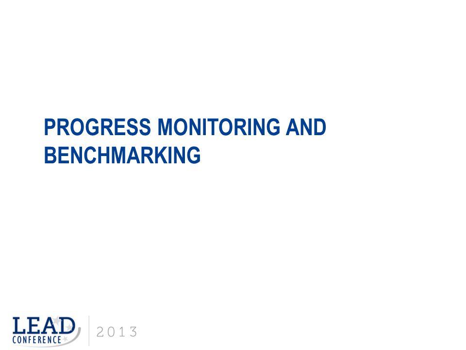 Progress Monitoring and Benchmarking