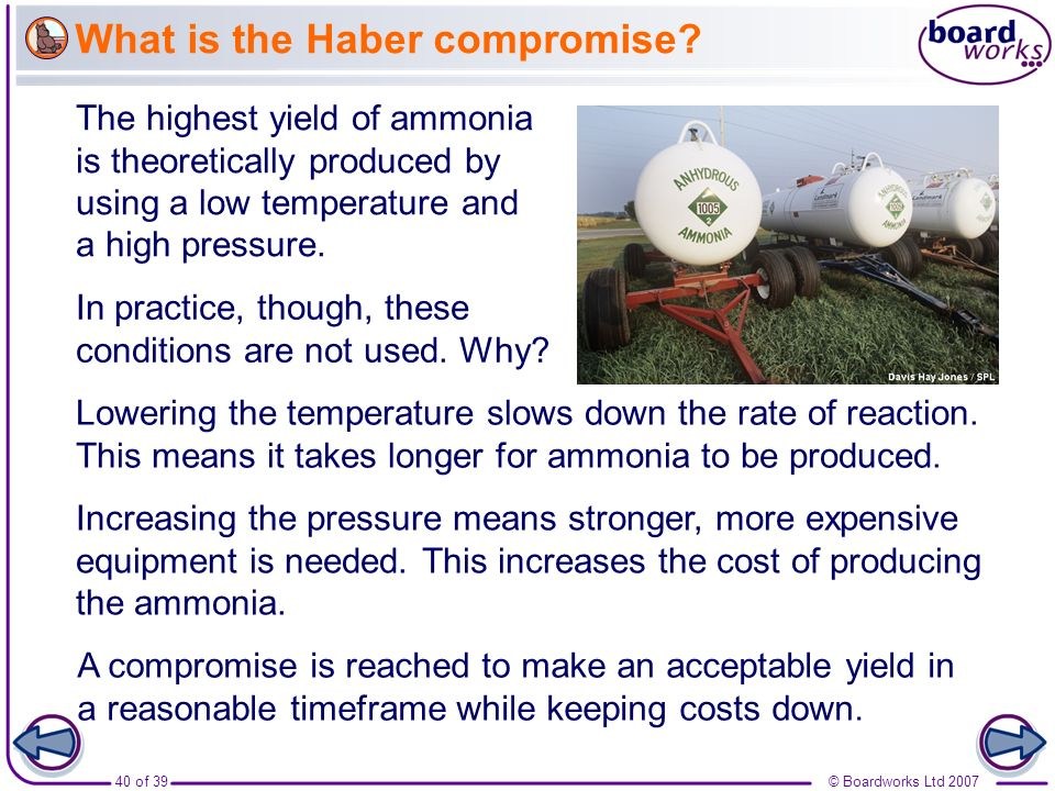 What is the Haber compromise