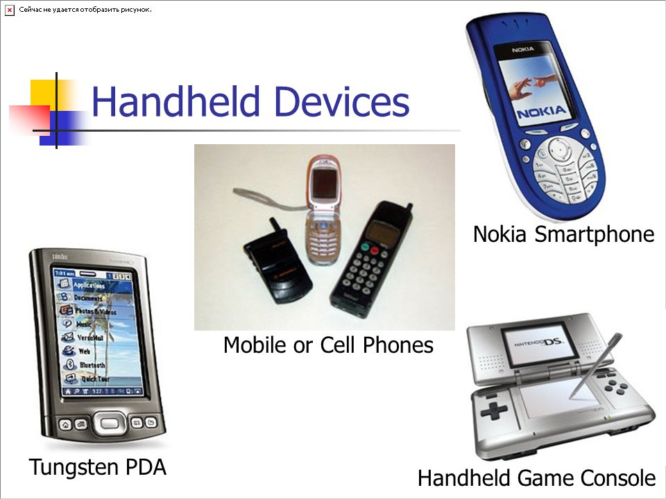 Handheld Devices Nokia Smartphone Mobile or Cell Phones Tungsten PDA