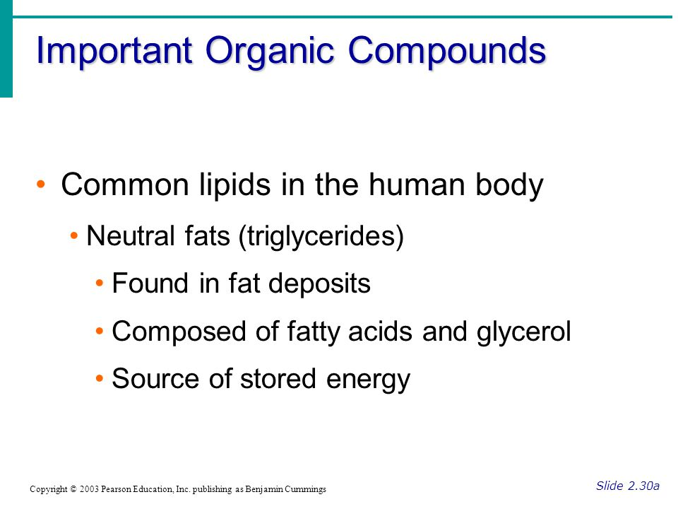 Important Organic Compounds