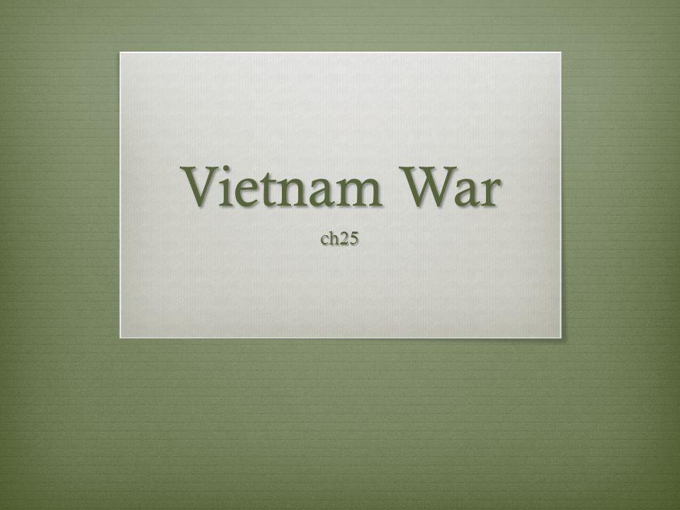 Vietnam War ch25