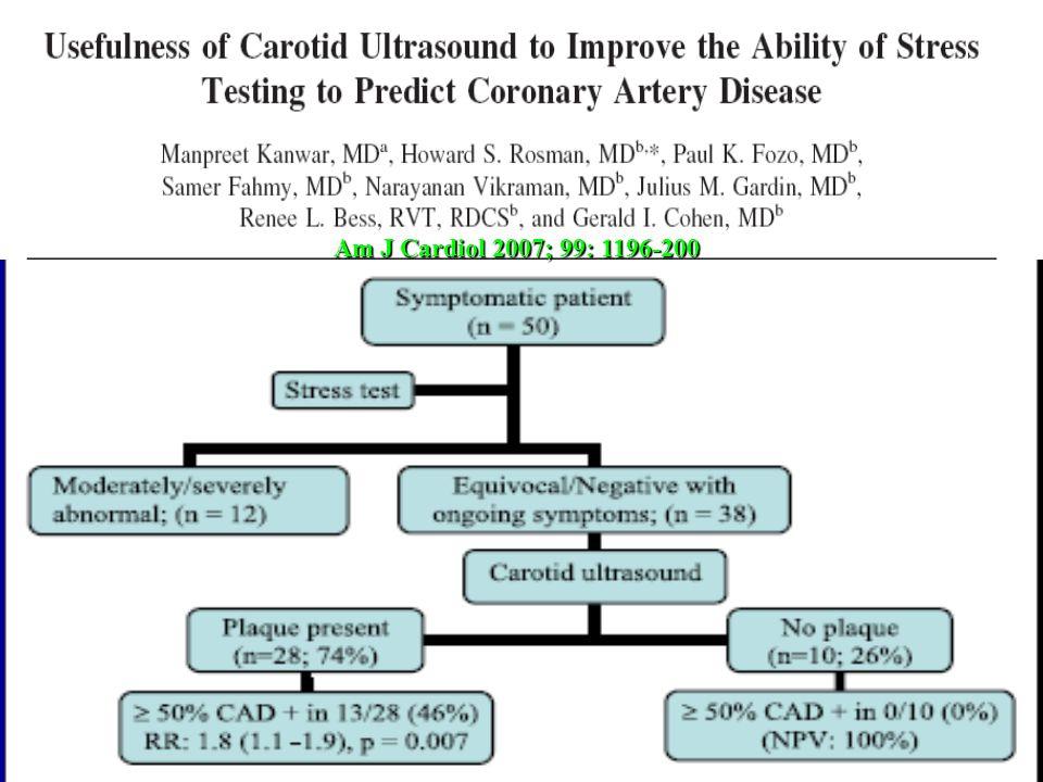 Am J Cardiol 2007; 99: 1196-200 30