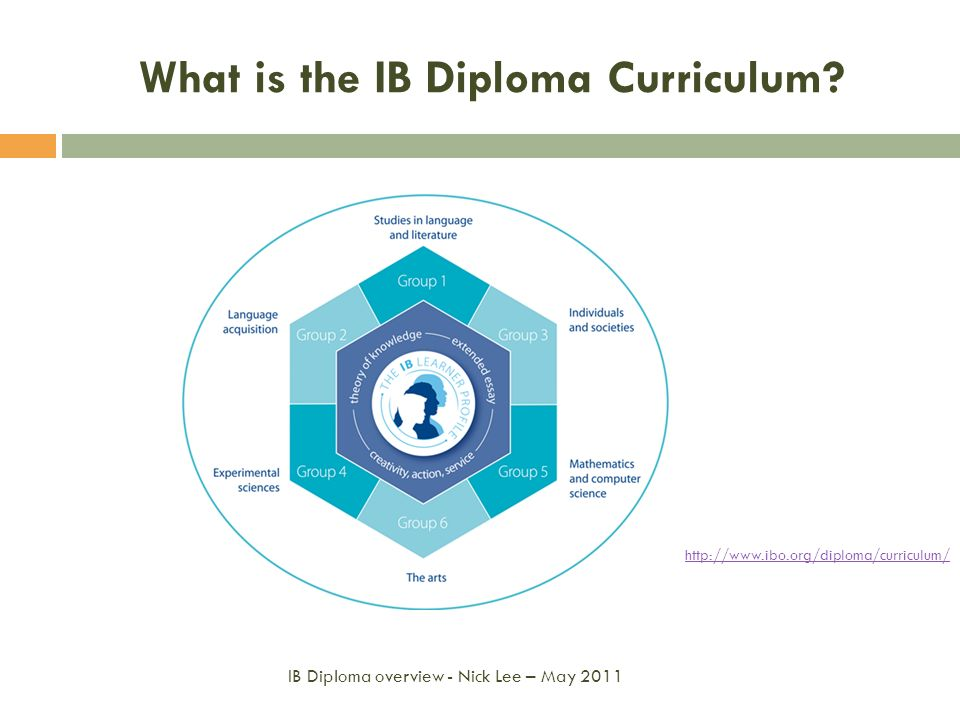 What is the IB Diploma Curriculum