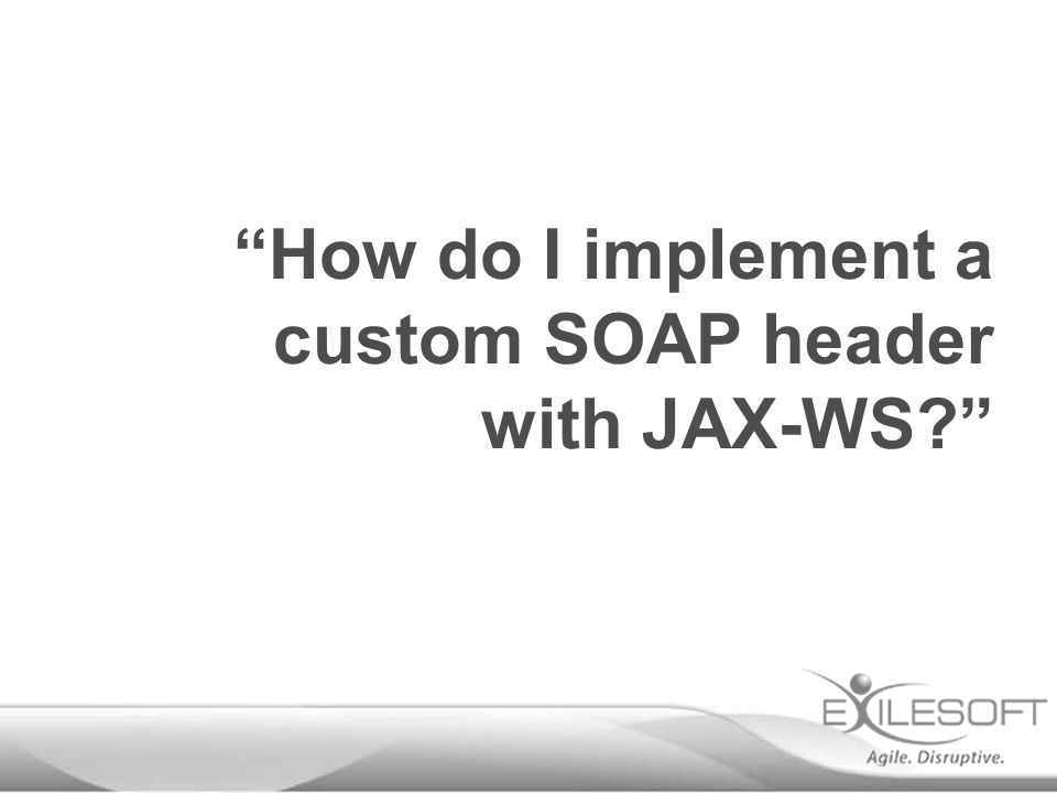 How do I implement a custom SOAP header with JAX-WS