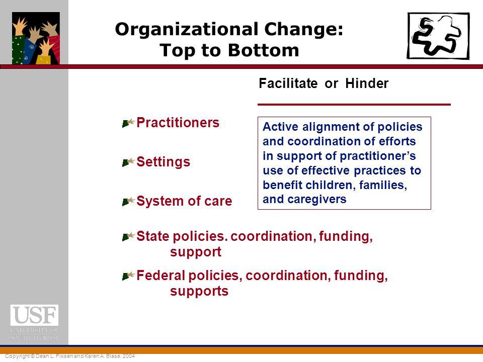 Organizational Change: Top to Bottom