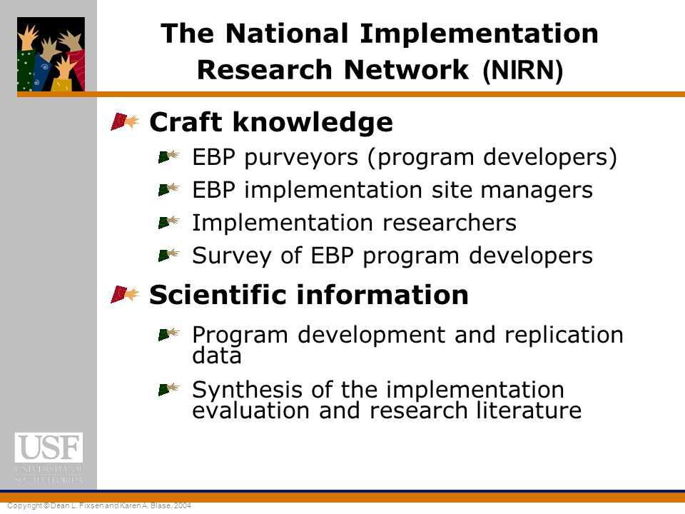 The National Implementation Research Network (NIRN)