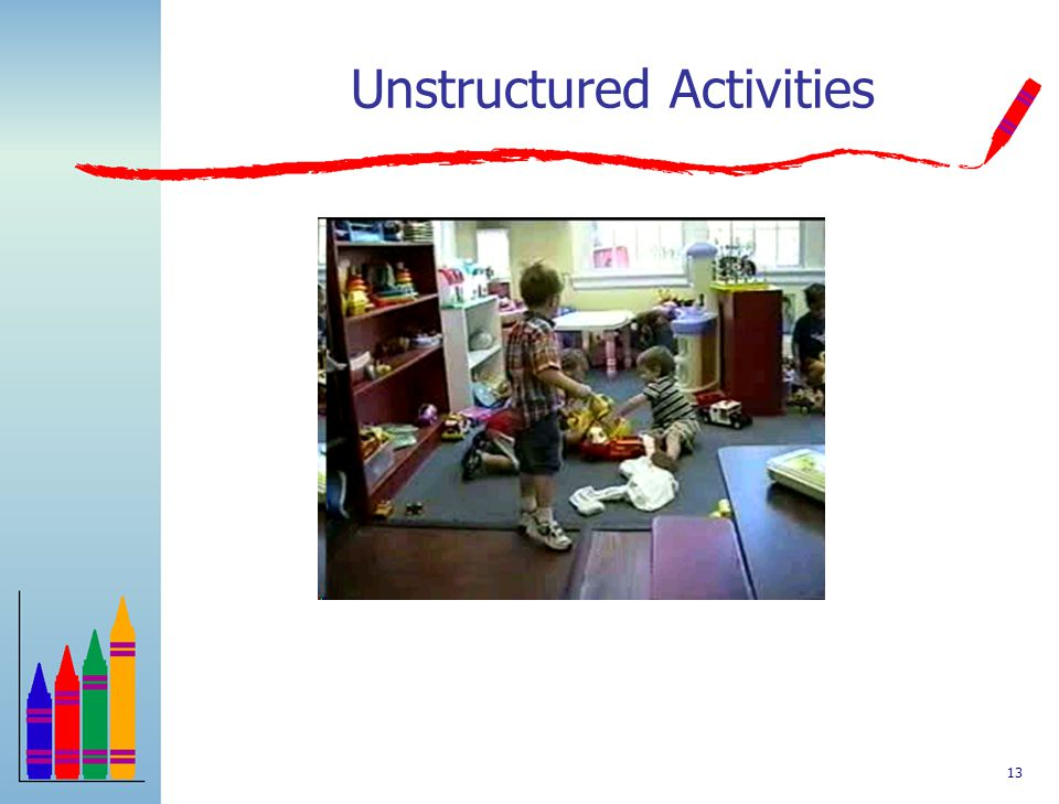 Unstructured Activities