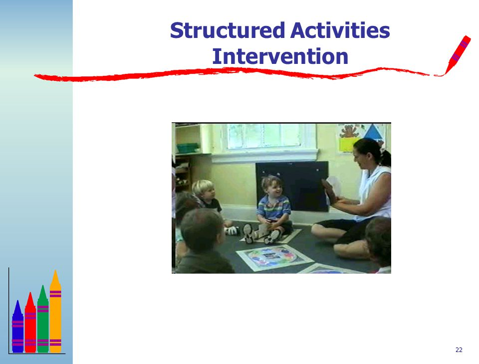Structured Activities Intervention