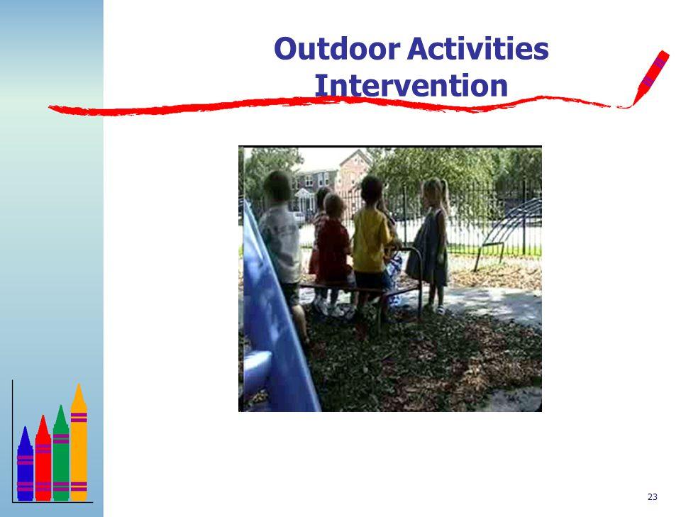 Outdoor Activities Intervention