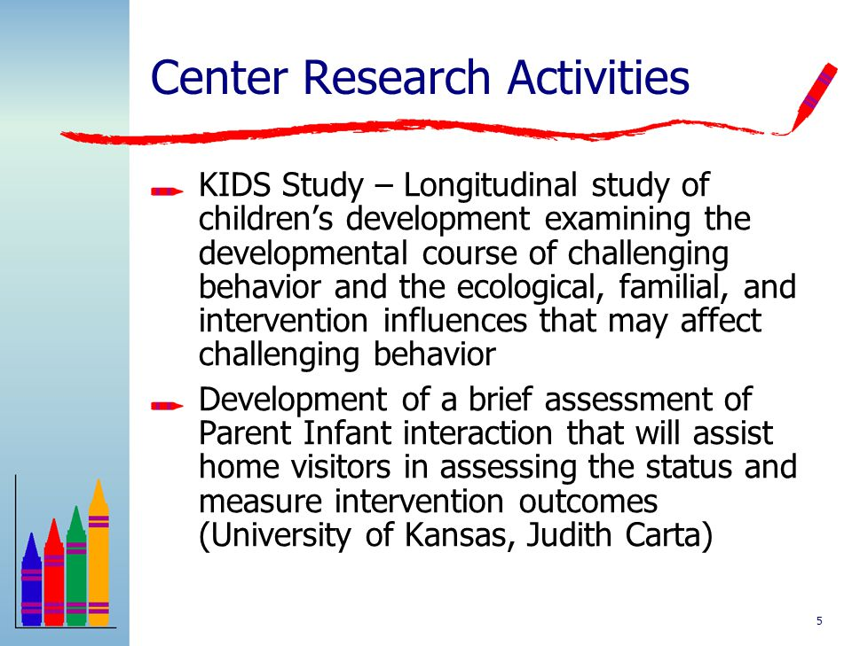 Center Research Activities