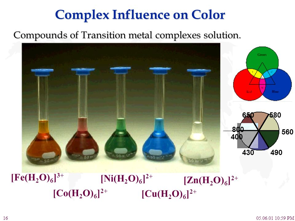Complex Influence on Color