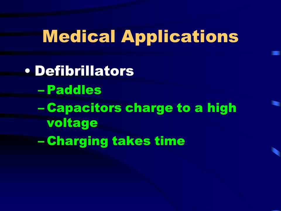 Medical Applications Defibrillators Paddles