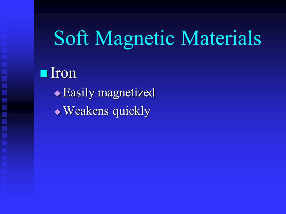Soft Magnetic Materials