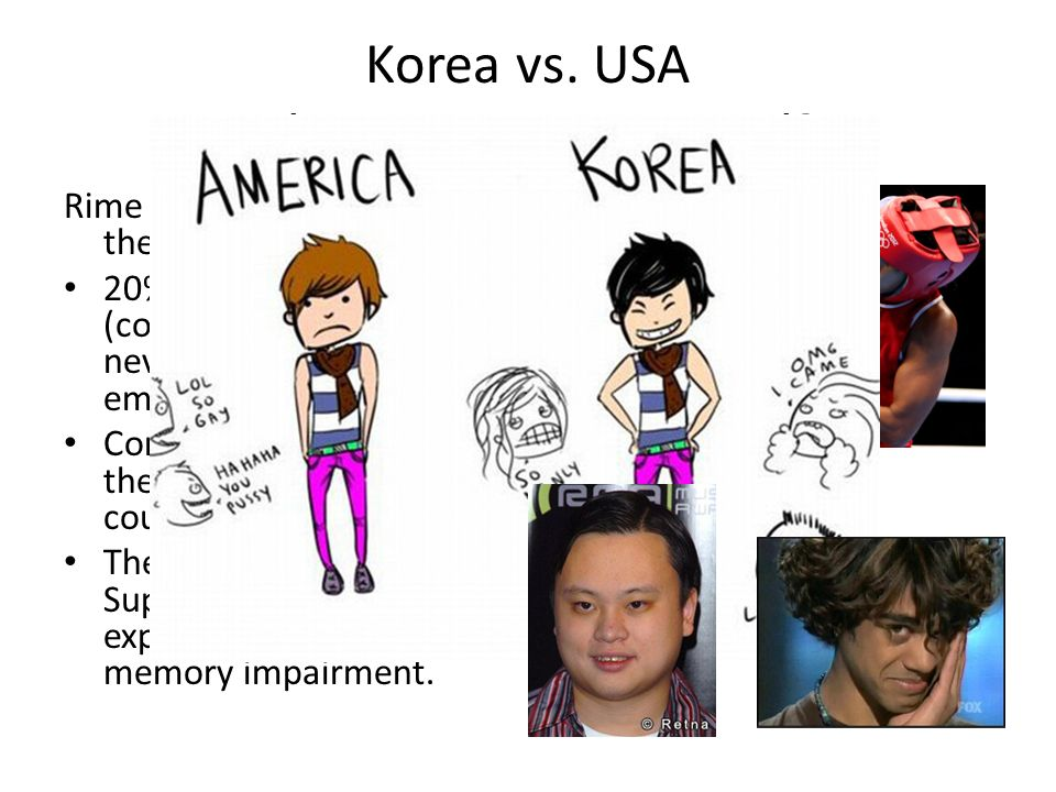 Korea vs. USA Who is more emotional
