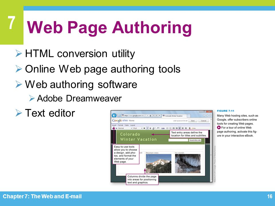 Web Page Authoring HTML conversion utility
