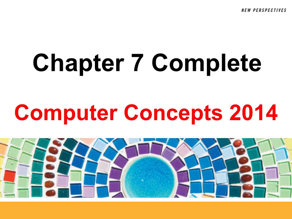Chapter 7 Complete