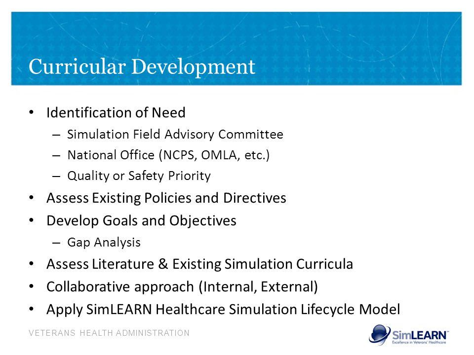 Curricular Development