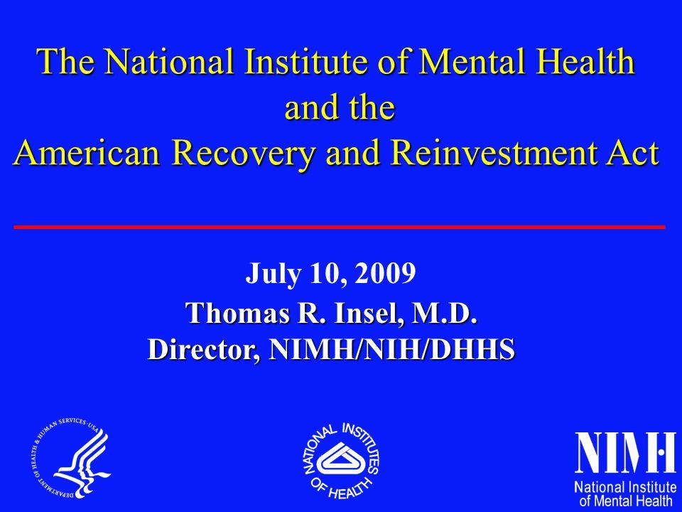 Director, NIMH/NIH/DHHS