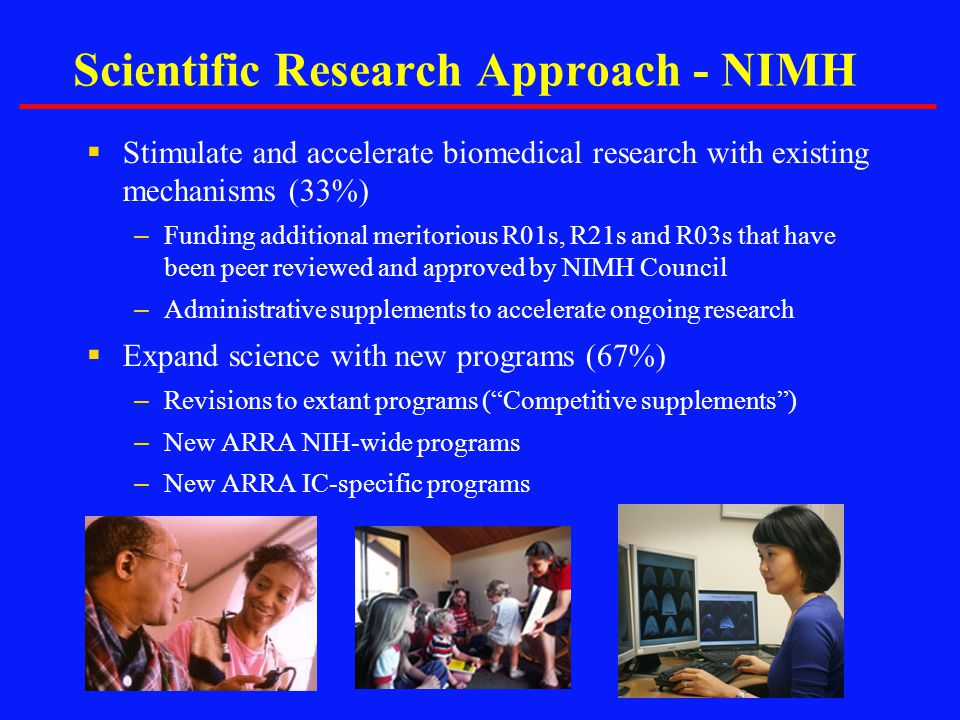 Scientific Research Approach - NIMH