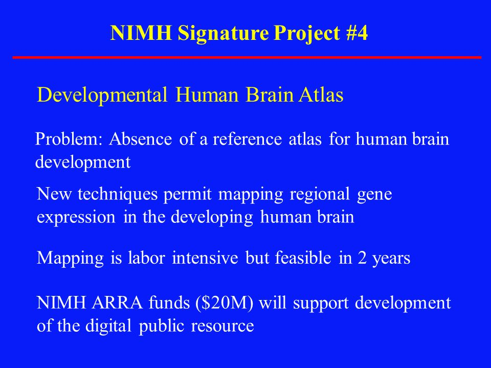 NIMH Signature Project #4