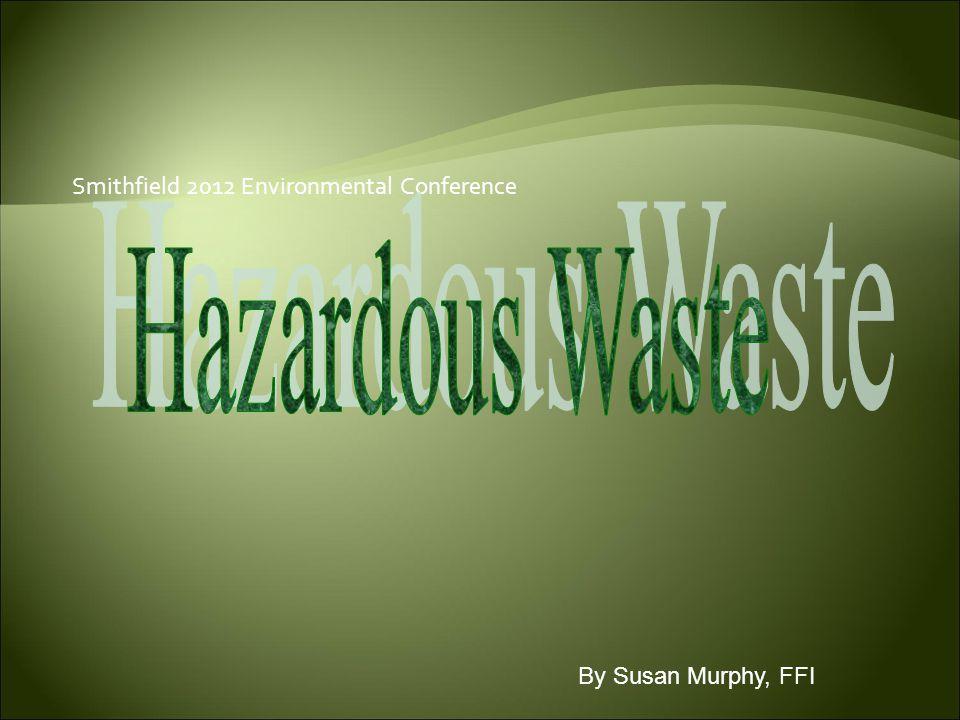 Smithfield 2012 Environmental Conference