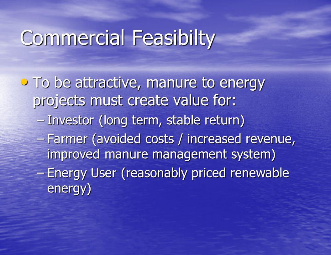 Commercial Feasibilty