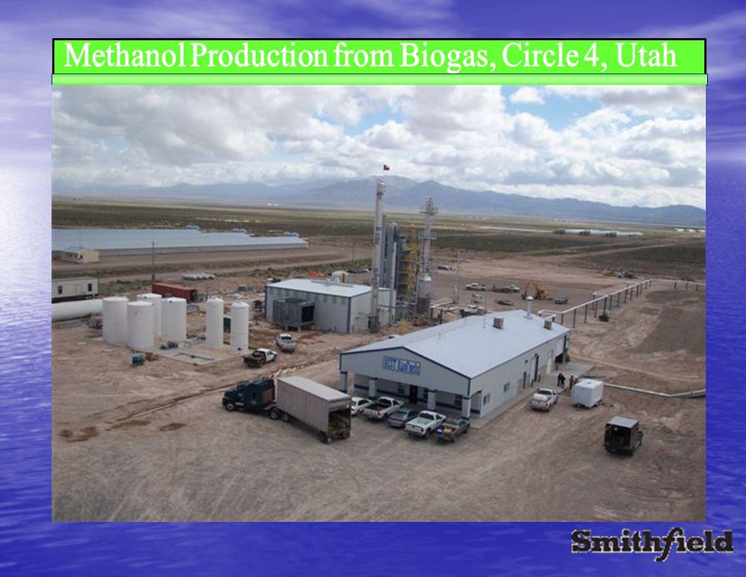 Methanol Production from Biogas, Circle 4, Utah