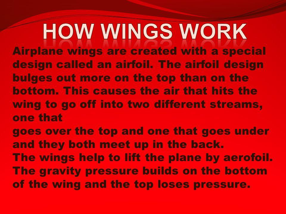How wings work