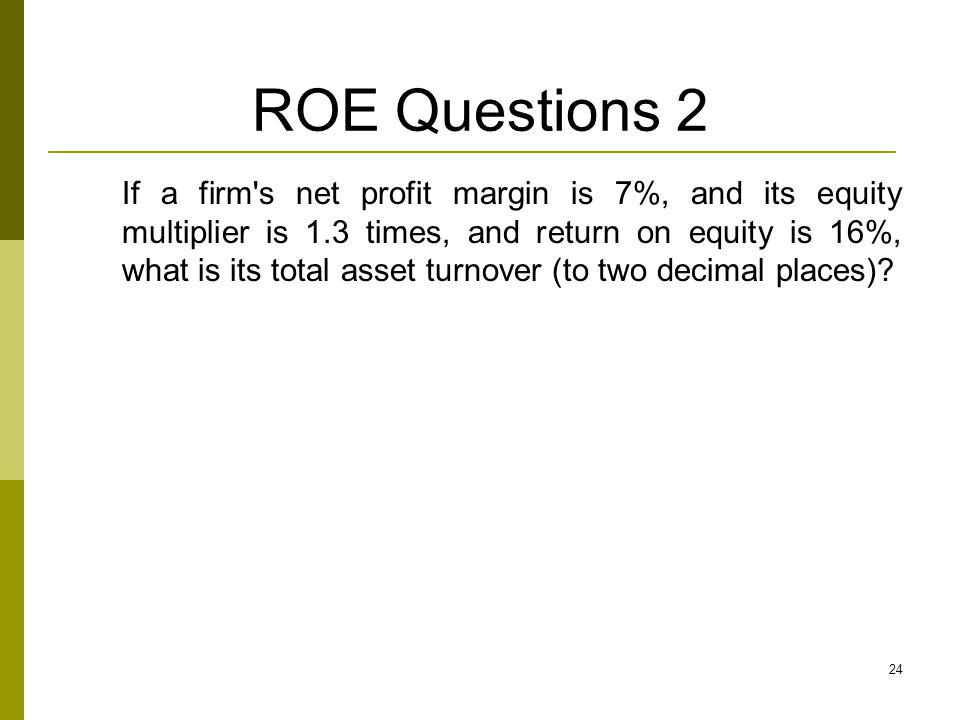 ROE Questions 2