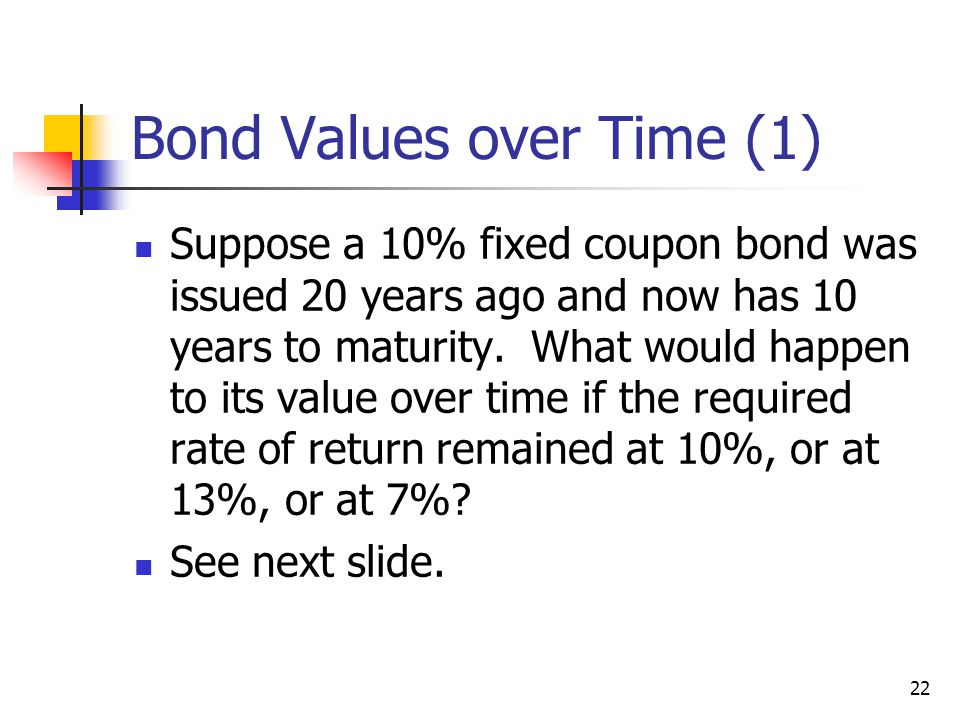 Bond Values over Time (1)