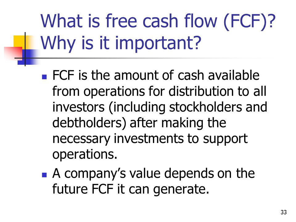 What is free cash flow (FCF) Why is it important